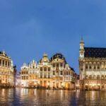 Bruselas Ciudad Mercados navideños