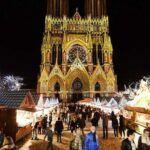 Mercado navideño en Reims