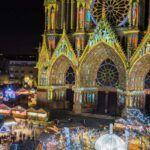 Mercado de navidad en Reims