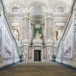 Interior Reggia di Caserta en Nápoles