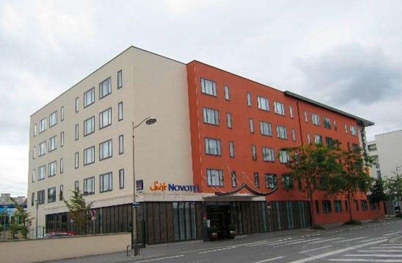 Edificio - Novotel Suites Reims Centre